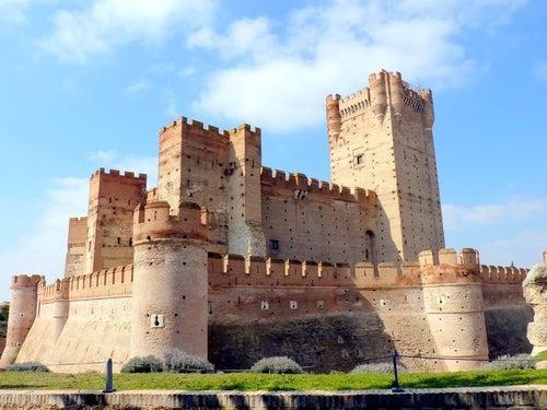 El castillo de la Mota, una obra de ingeniería militar