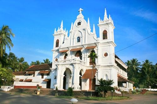 Iglesia en Goa