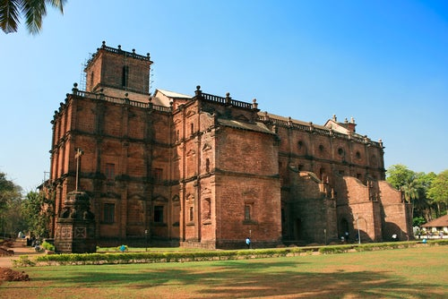 Basílica del Bom Jesús en Goa