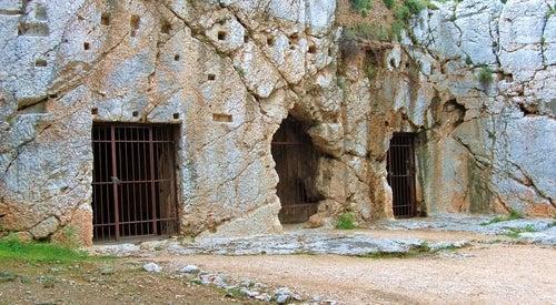 Prisión de Sócrates en Atenas