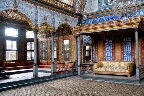 Harén del Palacio de Topkapi en Estambul
