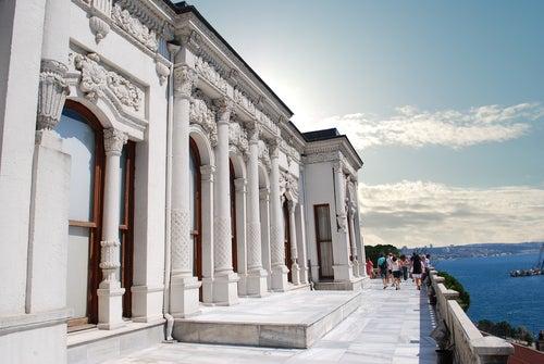 Fachada del Palacio de Topkapi
