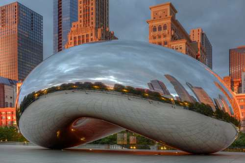 Cloud Gate en Chicago