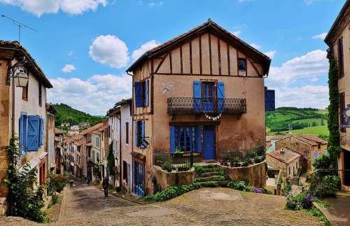 Cordes-sur-Ciel en Francia