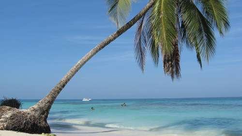 Playa Blanca en Colombia