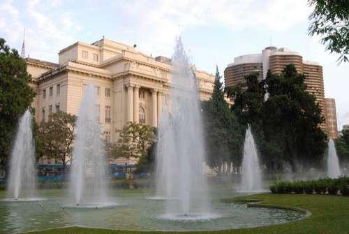 Praça da Liberdade en Belo Horizonte