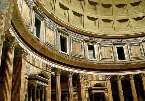 Detalle del Panteón de Agripa