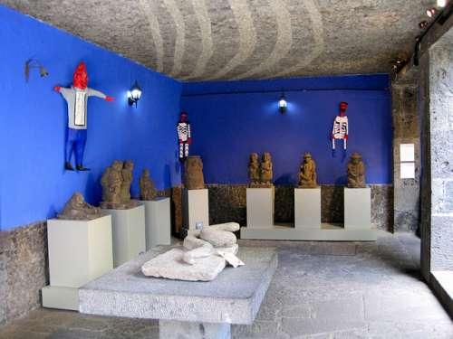 La Casa Azul de Frida Kahlo en México, museo e icono cultural