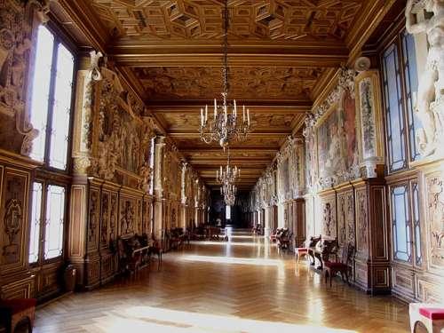 Galería de Francisco I en Fontainebleau