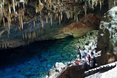 Gruta del Lago Azul en Bonito