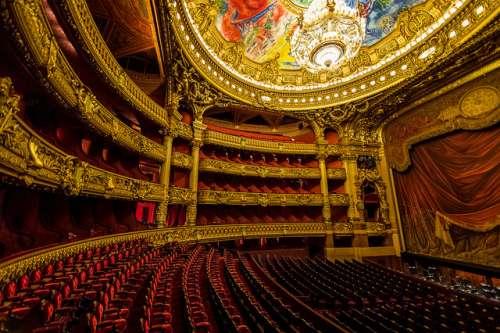 Escenario de la Ópera Garnier