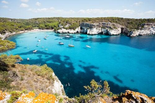 Cala Macarella en Menorca