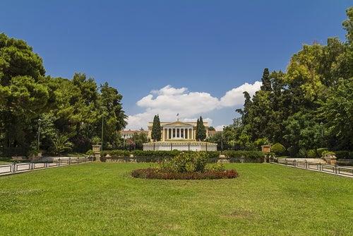 Jardines de Zapion en Atenas