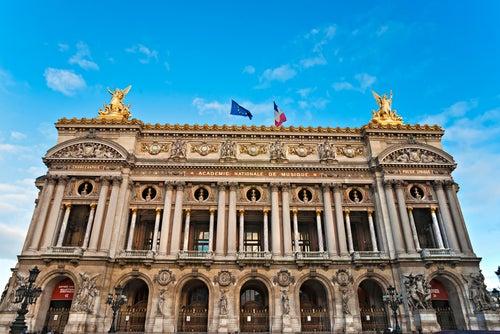La magnífica Ópera Garnier en París, inigualable