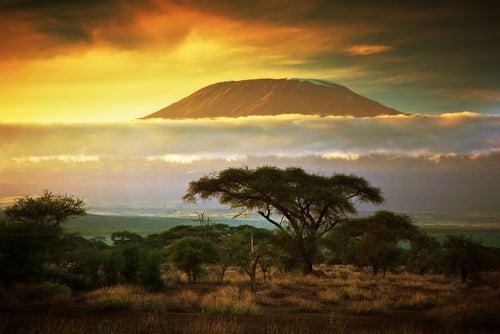 Monte Kilimanjaro en Tanzania
