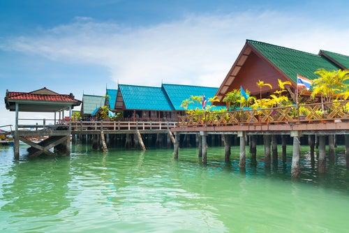 Ko Panyi en Tailandia