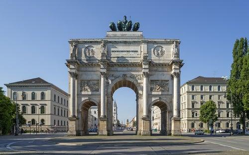 Siegestor en Múnich