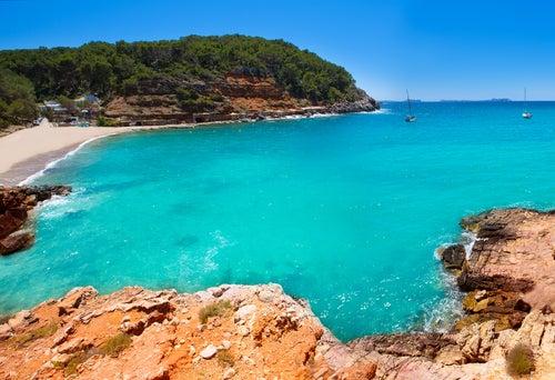 Cala Salada en Ibiza