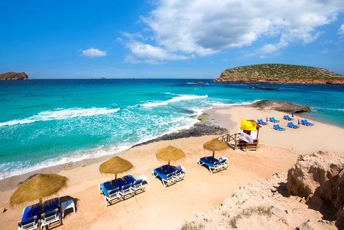 Cala Comte en Ibiza