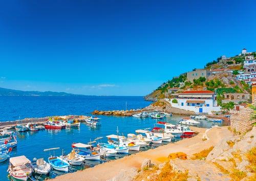 Hydra en Grecia