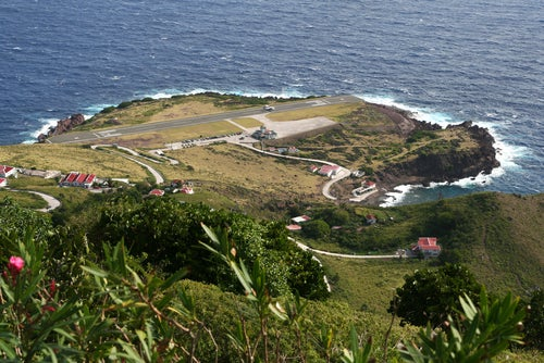 Aeropuerto de la isla de Saba