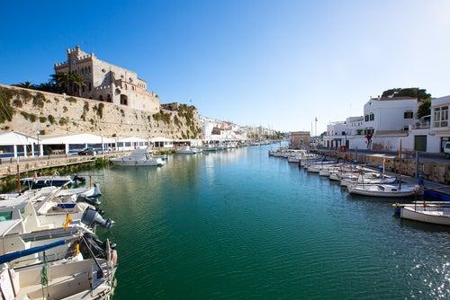 La Ciudadela en Menorca