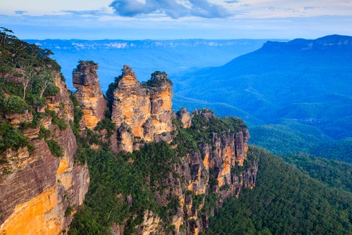 Descubrimos la belleza de las Montañas Azules en Australia