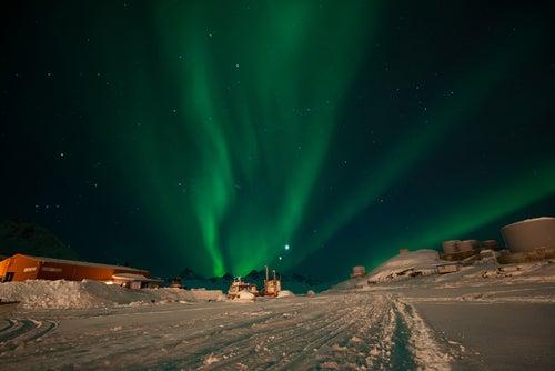 Aurora boreal en Tasiilaq