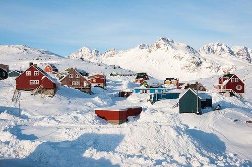 Tasiilaq, un precioso y colorido pueblo en Groenlandia