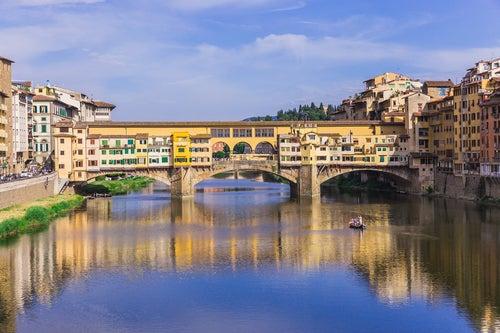 El Puente Vecchio: único superviviente a la Luftwaffe alemana