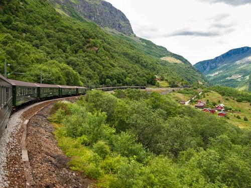Tren por Noruega