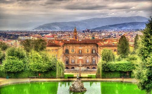 Palazzo Pitti en Florencia