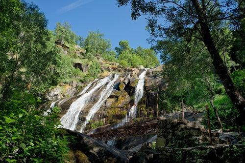 Cascada del Caozo en el Valle del Jerte