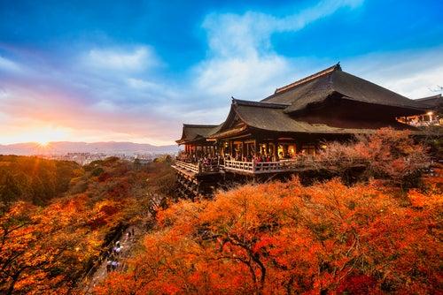 Templo Kiyomizu Dera en Kyoto