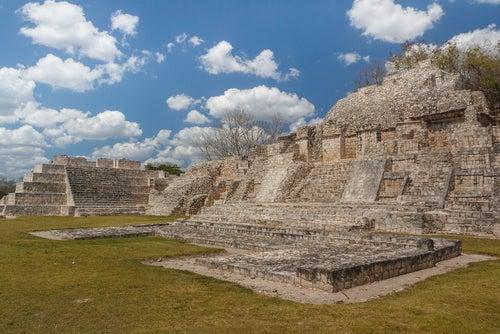 Ruinas mayas de Edzna en Campeche