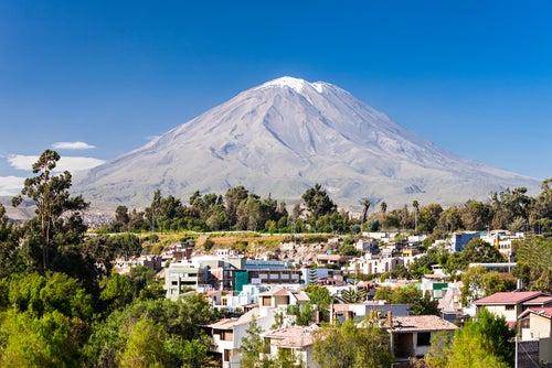 Volcán Misti en Arequipa
