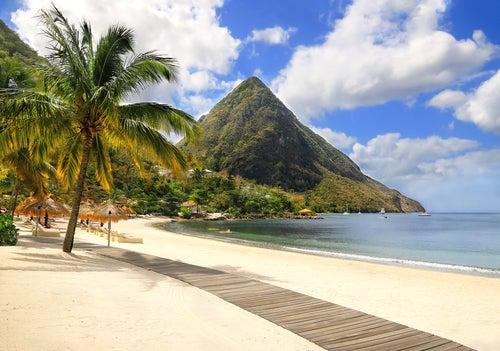 Santa Lucía, la isla de las playas exóticas
