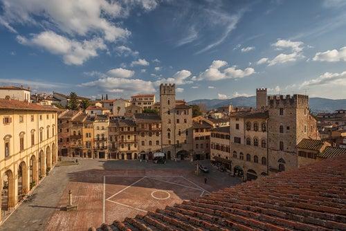 Arezzo en Italia, cuna de grandes artistas