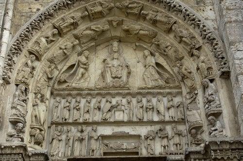 Pórtico de la catedral de Chartres