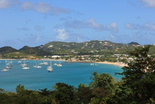 Bahía en Santa Lucía