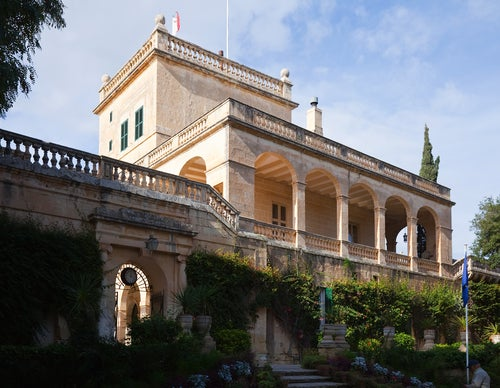 Palacio de San Antón en La Valeta