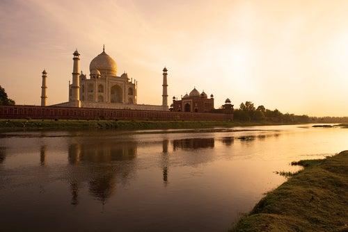 Taj Majal en la India