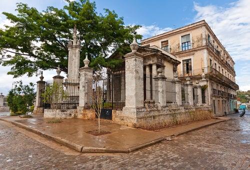 El Templete en La Habana