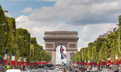 Campos Elíseos en París
