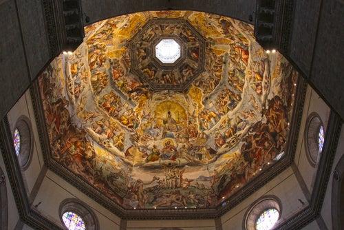 Interior de la cúpula de Santa María del Fiore