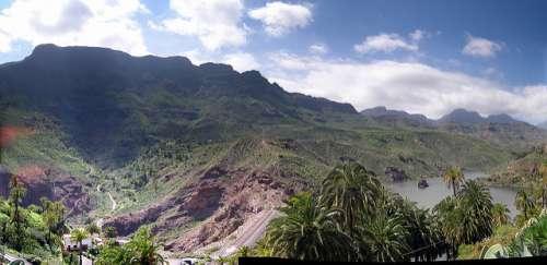 Mirador de la Sorrueda en Gran Canaria