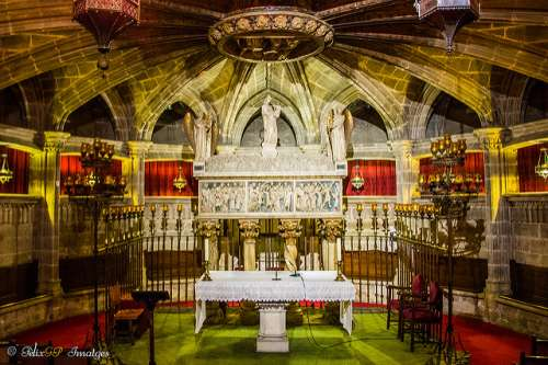 Cripta de Santa Eulalia en la catedral de Barcelona