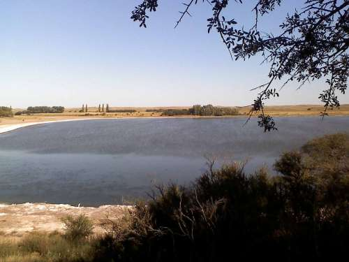 Laguna Utracán en La Pampa