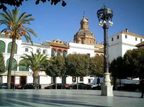 Plaza de Arriba de Carmona
