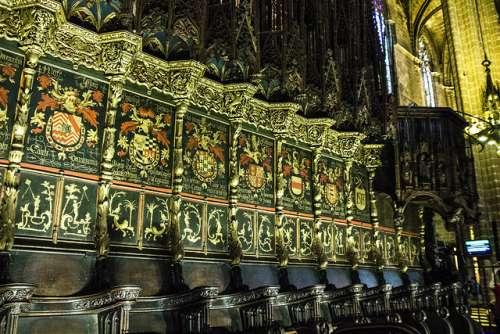 Coro de la catedral de Barcelona